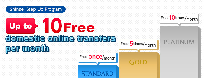 Discounts For Each Stage Shinsei Step Up Program Shinseibank